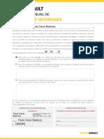 Declaração de Conflito de Interesses 2021 - Paulo