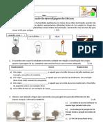 Prova de Ciências PDF