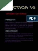 CERRADURA ELECTRONICA