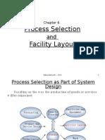 C061 Chap06 - Foe Web-Process Selection and Facilitiy Layout