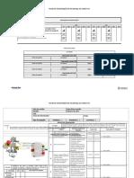 Plano de manutenção com cronograma - serra fita