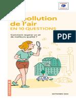 Guide Pratique Pollution Air en 10 Questions
