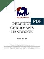 GOP 2008 Precinct Chairman Handbook