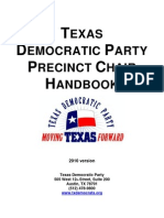 Democrat Precinct Chair Handbook 2010