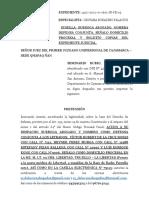 APERSONAMIENTO JUZGADO SEMNARIO RUBIO (QUERELLA)