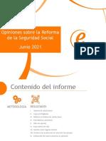 Informe Seguridad Social - Junio 2021