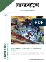 Fantasy Craft - Eberron conversion guide by aegis