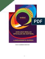 Reglas Softbol 2018-2021 WBSC 17