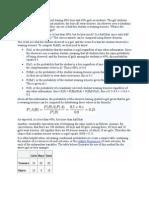 Probability problems