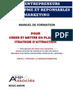Manuel Strategie d'Attraction 2 - Partie 2 Le Message Marketing