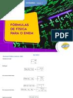 Fórmulas de Física para o Enem