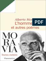Alberto Moravia - L'Homme Nu Et Autres Poèmes