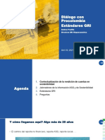 Diálogo Procolombia GRI Standards