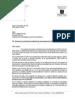 Carta de la ANP a la Confederación de Trabajadores de la Prensa