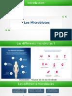 Les microbiotes