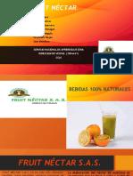 FRUIT NÉCTAR diapositiva