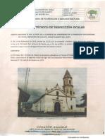 Inspección a la parroquia de San Antonio de Padua - Gigante, Huila.