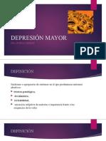 Depresión Mayor Presentación
