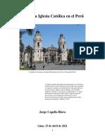 La Santa Iglesia en El Peru. Docx