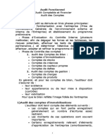 Audit Final Des Comptes Support de Cours