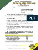 ATO N.111 - GCERO.2019-2021 - Investidura - Real Forte Príncipe da Beira - 25.07.2021