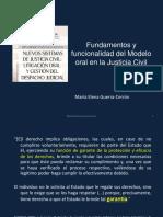 Fundamentos y funcionalidad del Modelo Oral GUERRA-CERRON