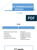 Pharmacologie Speciale d 1
