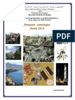 Annuaire Statistique de La Wilaya de Tizi Ouzou .Année 2018