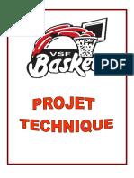Projet technique VSF BASKET