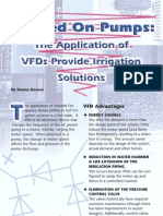 The Application of VFDS Provide Irrigation Solution