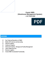 An_over_view_Oracle WMS