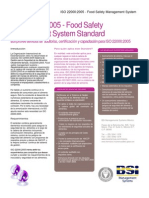BSI Sistemas de Gestión de Seguridad de Alimentos