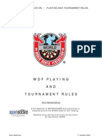 WDF Playing and Tournament Rules[1]