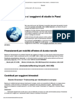 La ricerca all_estero e i soggiorni di ...Paesi stranieri — Dottorati di ricerca