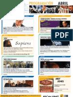 Programación Aula CAM Orihuela Abril 2011 Obra Social Caja Mediterráneo