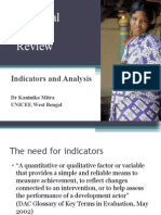 Maternal Death Review Indicators Analysis