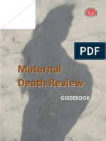 Maternal Death Review Guidebook