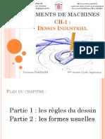CH-1 Dessin Industriel