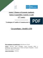 Cas pratique_Techniques d'Audit et Commissariat Aux comptes_Société ATD