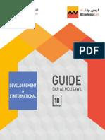 DAR Al Moukawil Guide 10 Developement a l International