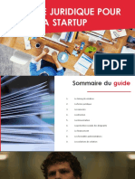 Guide Juridique Pour Creer Start-up