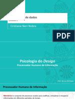 2 - Psicologia de Design - Processador Humano - Parte A