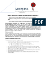 Argex Mining Inc