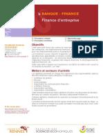 banque finance d'entreprise