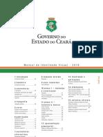 Manual de Identidade Visual Governo Do Ceara 2016