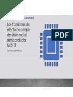 Electrónica de Potencia-MESFET - clases
