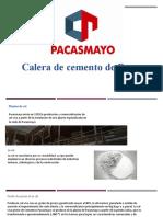 Caleras de cemento de Pacasmayo