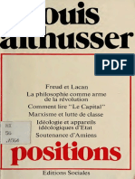 Althusser - Positions (1964-1975)