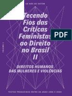 Tecendo Fios Das Críticas Feministas Ao Direito No Brasil II – Volume 1
