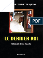 Le Dernier Roi - Jean-pierre Tuquoi